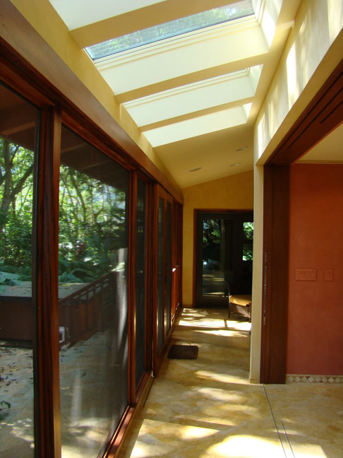 skylights from screenen lanai o 39 donnell construction llc